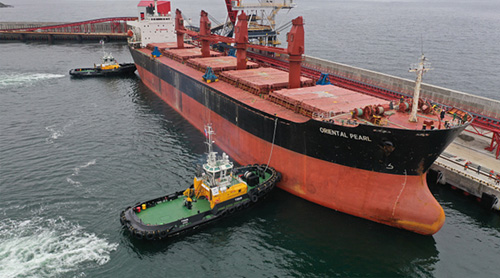 First vessel despatched from the VaninoTransUgol terminal constructed to Morstroytechnology's design