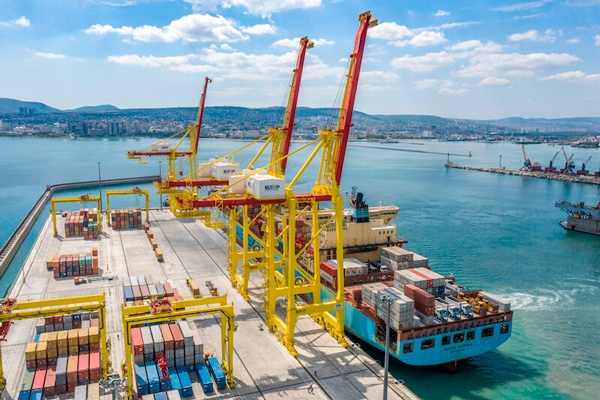 novorossiysk berth started work 1