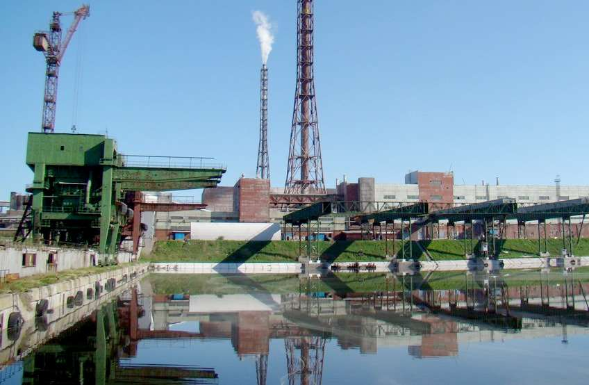 Quay for unloading bulky and heavy equipment on the territory of JSC PhosAgro-Cherepovets industrial port