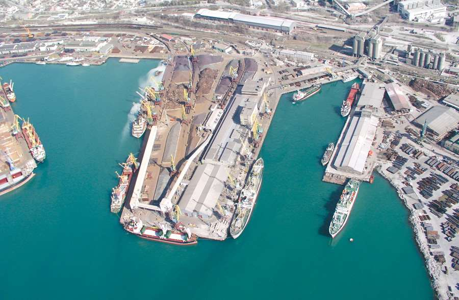 New container terminal in the port of Novorossiysk (Black sea basin)
