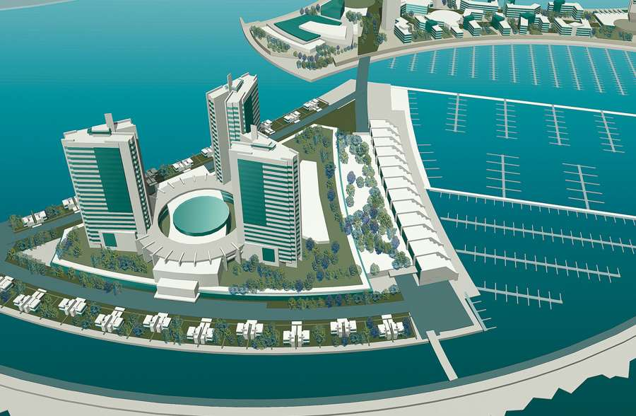 Black sea marina concepts. Recreational complexes
