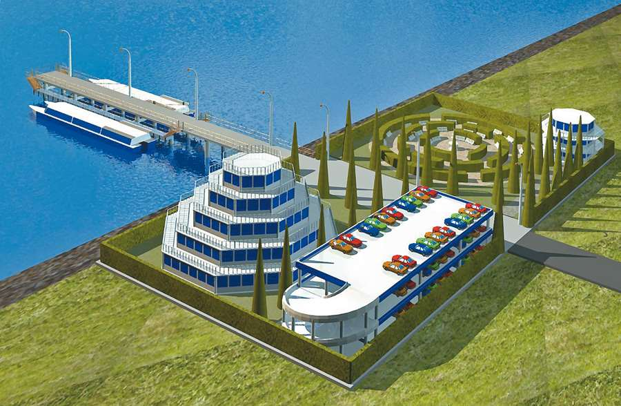 Development concept for sea passenger transport operations. Greater Sochi area (Black sea basin)