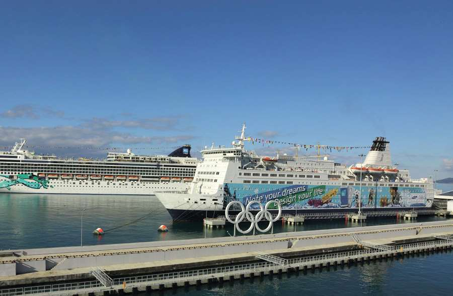 Sochi international centre for passenger and cruise shipping (Black sea basin)