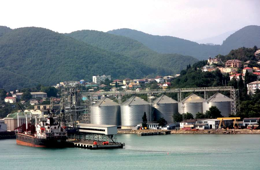 Tuapse grain terminal  piers and berths (Black sea basin)