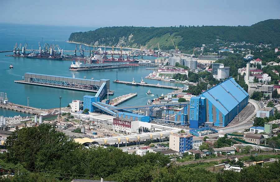 Tuapse bulk terminal (Black sea basin)
