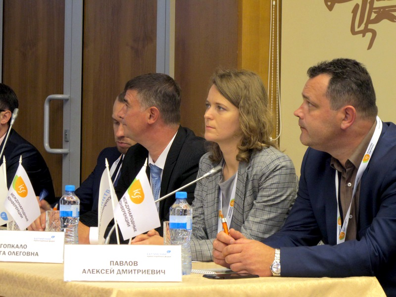 Morstroytechnology takes part in the Baltic Transport Forum: «Transit as a stimulus for the development
