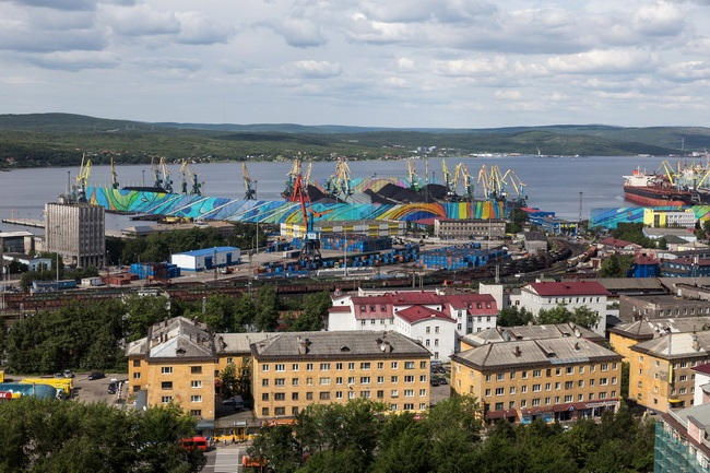 Project to construct dust suppression facilities at the port of Murmansk developed by Morstroytechnology receives
