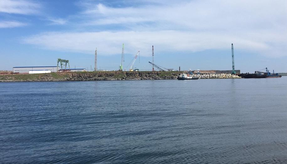 По проекту Морстройтехнологии строится терминал «ВаниноТрансУголь»